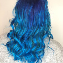Blue Coloring