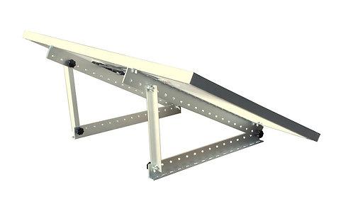 Large adjustable angle solar panel mount