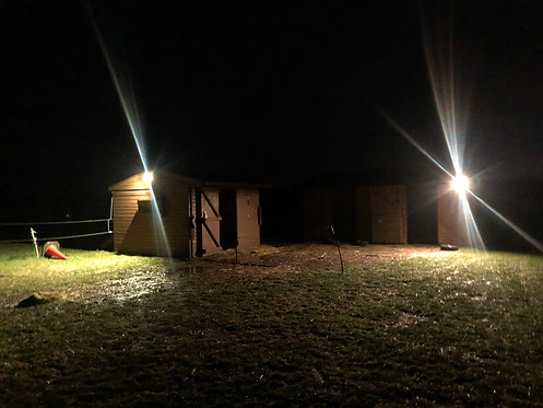 2 Flood Light Kit For Stables And Barns
