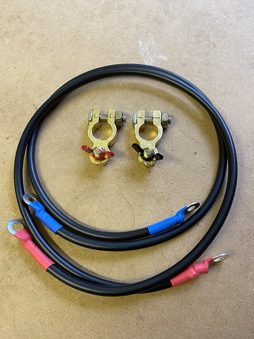Parallel battery cables