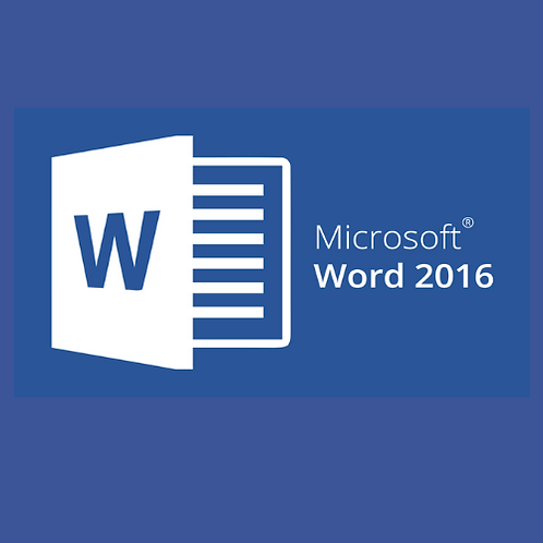 Microsoft Office Specialist Word 2016 Basic