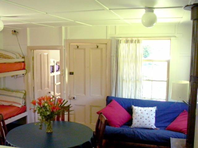 Cabin 2's cosy interior
