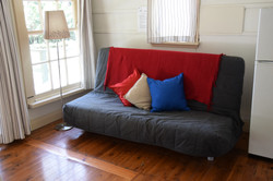 Cabin 3's sofa bed