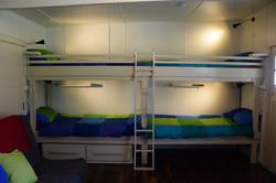 Cabin 1 bunks