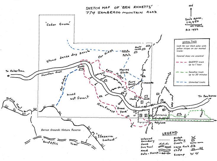 Ben Ricketts map 2018