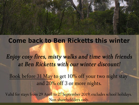 Winter is the best time to come to Ben Ricketts