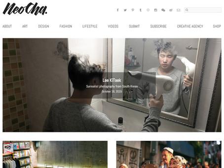 Introduced to Artist in the Chaina magazine 'NEOCHA' 중국잡지 작가소개