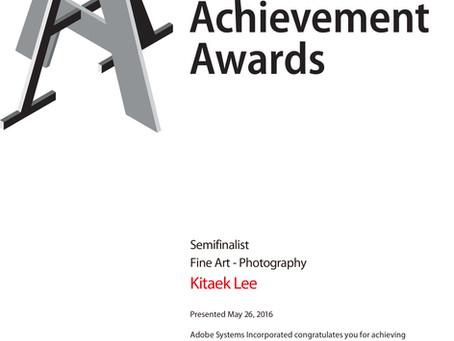 2016 ADAA Semifinalist. Fine Art – Photography 어도비 공모전 준결승 수상 - 예술사진부문