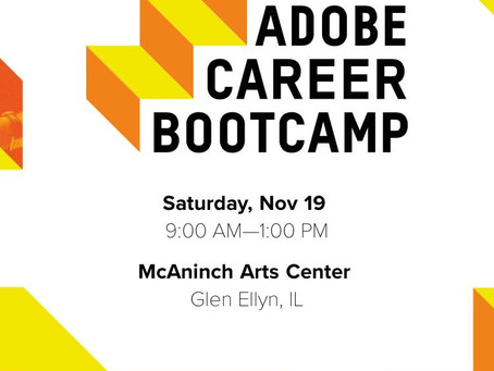 Invited to Adobe Career Bootcamp: College of DuPage, Chicago 어도비 수상자 시카고 초청