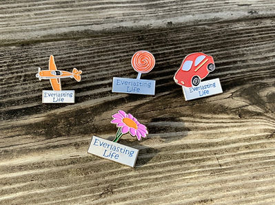 Everlasting Life Children's Lapel ins fo