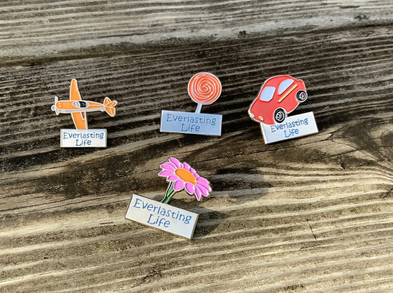 4 Everlasting Life Children's Lapel Pins