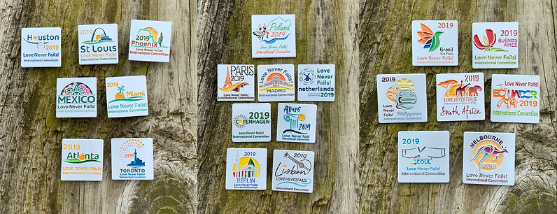 2019 International Convention Lapel Pins | JWstuff org Tie Clips