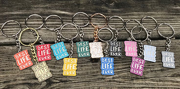 Best Life Ever Mini Keychains made for J