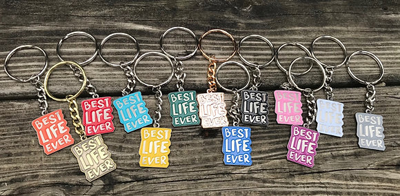 4- Best Life Ever Mini-Keychain