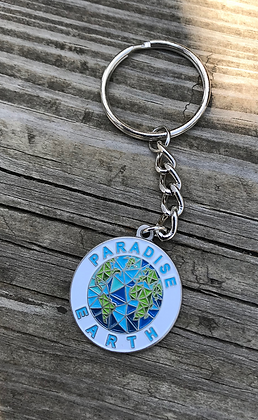 6- Paradise Earth Mini-Keychain