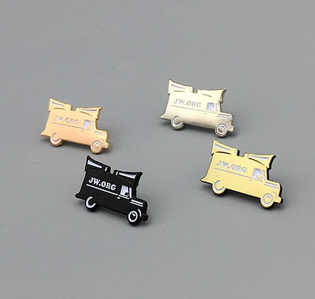 2- Sound Car Lapel Pin