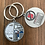 Thumbnail: 100- Ministry Keychain with No Blood Info