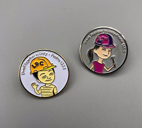 8- LDC Lapel Pin