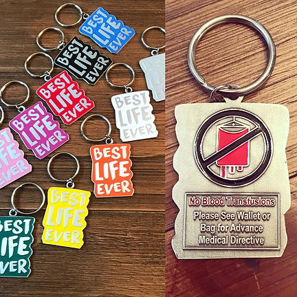 Keychains for Jehovah's Witnesses