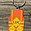 Thumbnail: LDC Safety Vest Orange No Blood Keychain