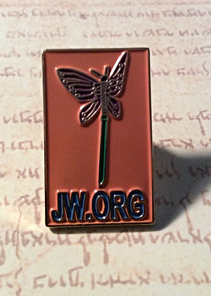 4 JW.org Butterfly Lapel Pins