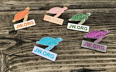 Sea Turtle Lapel Pin for Jehovah's Witne