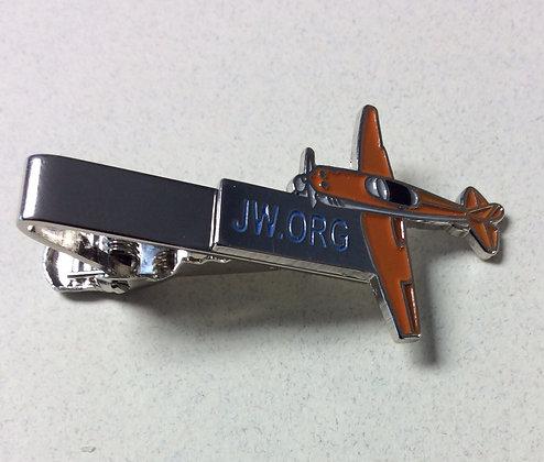 JW.org Airplane Tie Clip
