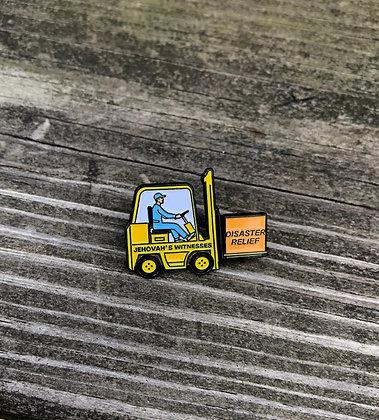 1- DRC Forklift Lapel Pin