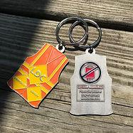 LDC Safety Vest no Blood KEychain for Je