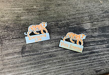 Everlasting Life Lapel Pins Tiger 2 for