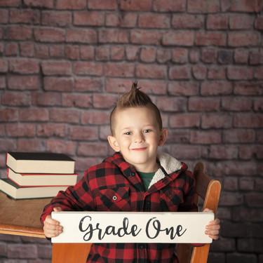 grade one school photos