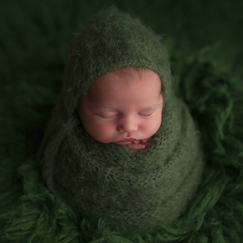 green potatoe sack