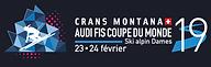 Logo Coupe du Monde de ski alpin Crans-Montana