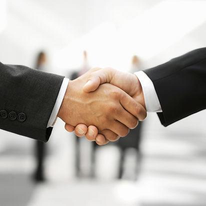 Two Men Shaking Hands