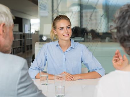 En framgångsrik arbetsintervju