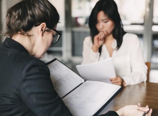 Saker du aldrig ska säga i en arbetsintervju