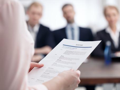Riktlinjer för vad du ska inkludera i ditt CV