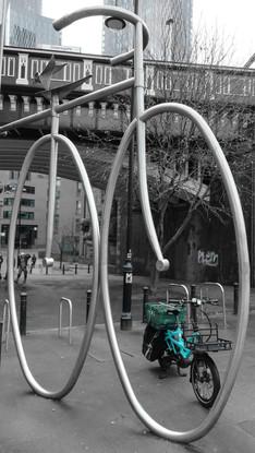 Big bike, little bike