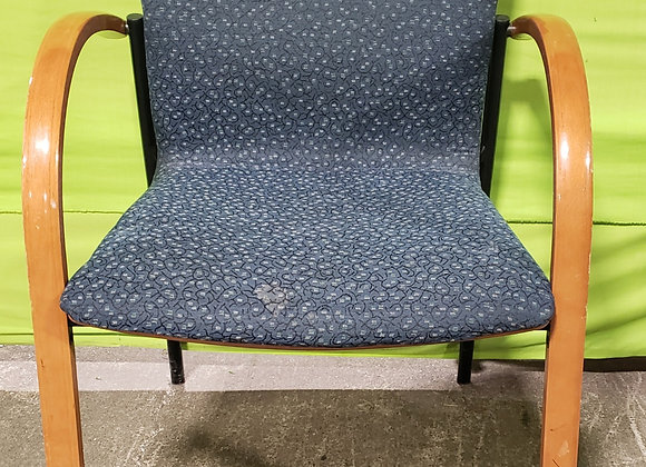 Reception Chair (Blue)