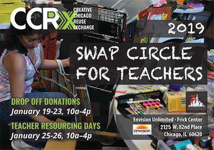 New Year's Resolution:  Support Chicago Teachers, Students AND the Environment at CCRx's nex