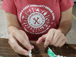 Let's Fix It!   CCRx welcomes Community Glue Workshop to our first Community Repair Day