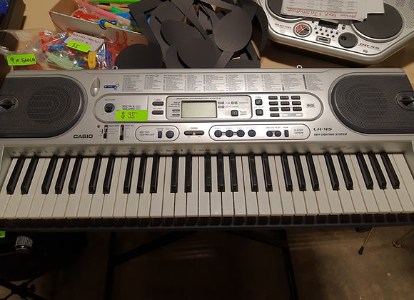 Keyboard, Casio LK-45, Synthesizer and Stand