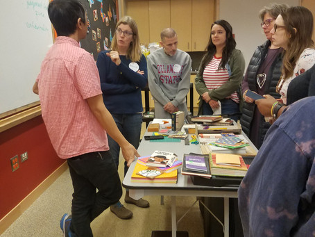 Community Bookbinding Workshop with Regin Igloria