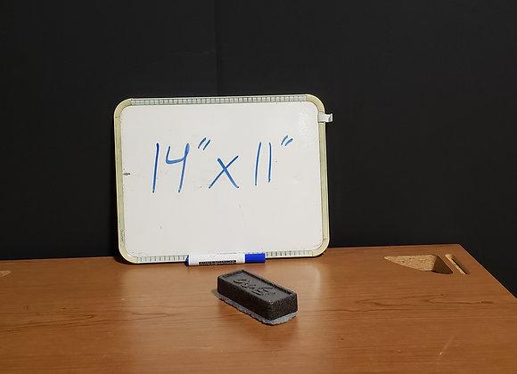 """Dry-Erase Whiteboard (14"""" x 11"""")"""