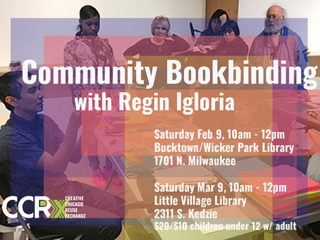 Community Building through Bookmaking with Regin Igloria of North Branch Projects