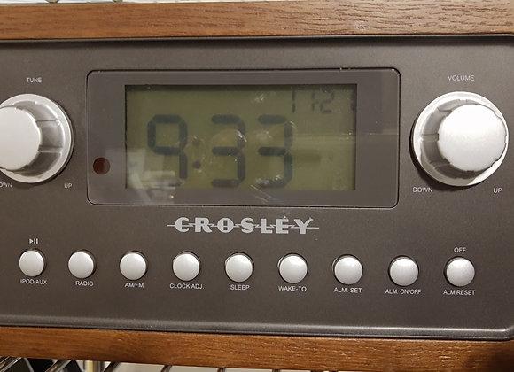 Crosley Alarm and IPod Player