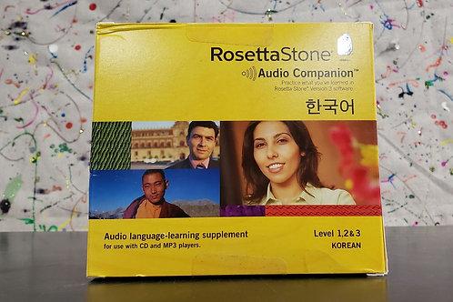 Rosetta Stone Korean