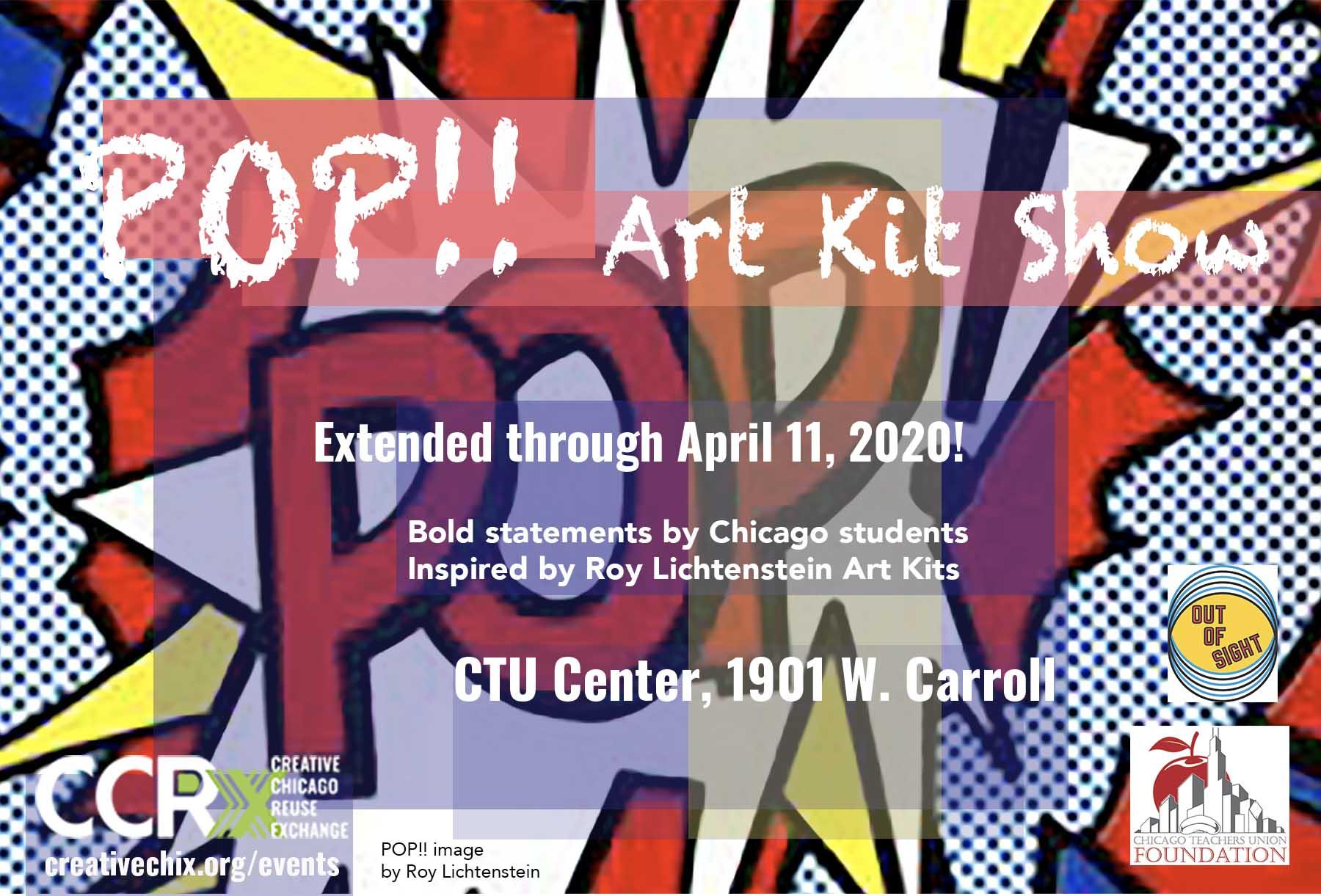 Pop!! Art Show Extended