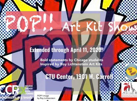 Pop!! Art Show Extended thru April 11