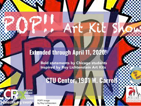 Pop!! Art Show Extended thru April 11